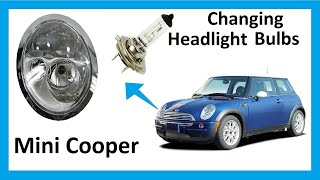 How To Change Headlight Bulbs In Your Mini Cooper