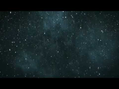 Blue Grunge Snow - HD Background Loop