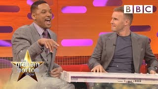 Will Smith And Gary Barlow Do 'The Fresh Prince Of Bel-Air