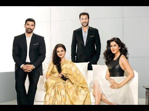 Rekha, Katrina, Aditya Lead Fitoor Cast - BT