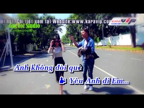 Karaoke full beat 100% Anh Khong Doi Qua   OnlyC ft Karik Official MV 720p
