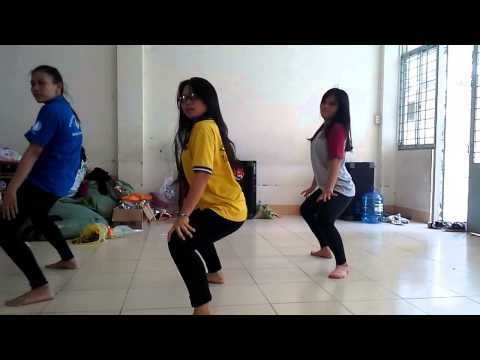 Rung động - Hoàng thùy Linh - dance rehearsal
