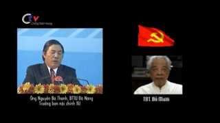 Ông Nguyễn Bá Thanh mạnh dạn phê bình sự yếu kém cuả Đảng CSVN sau 25 năm