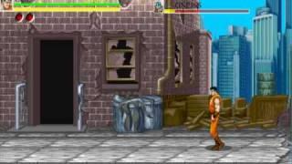 Final Fight, jogo de luta que com elementos de vários jogos como Golden Axe,Street Fighter e outros