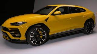 Lamborghini Urus Walkaround - Top Gear. Watch online.