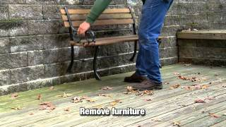 How To Clean And Prepare Wood Or Deck For Staining