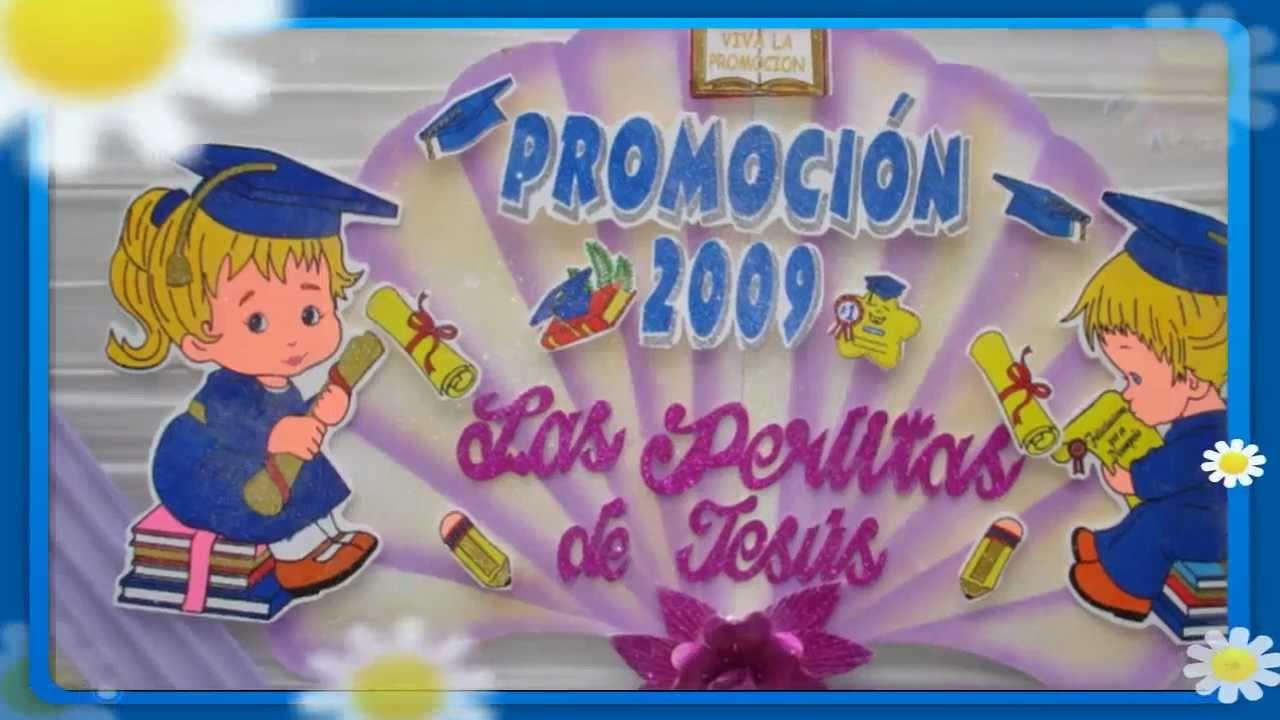 Decoracion Graduacion Preescolar