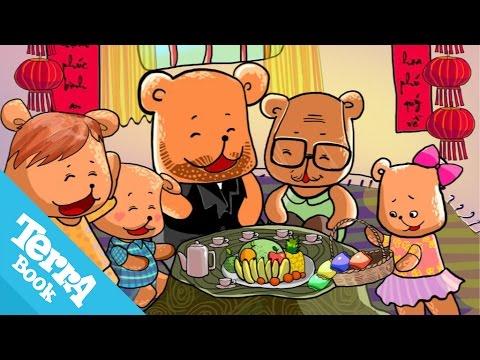 [TerraBook] Truyện đạo đức: Gấu con chia quà [HD]