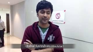 Rahul Ravindran Talk About Pelli Choopulu Movie & iQlik Short Films