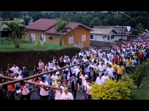 Caminhada penitencial reúne fiéis em Jaguaruna