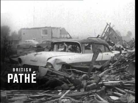 Fargo Tornado Deals Death And Ruin (1957)