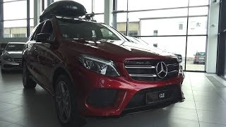 2017 Mercedes-Benz GLE 350d 4Matic (W166). Start Up, Engine, and In Depth Tour.. MegaRetr