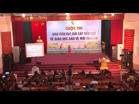 Cuộc thi giáo viên dạy giỏi cấp tiểu học - Bắc Giang 2012