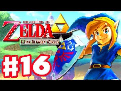 The Legend of Zelda: A Link Between Worlds - Gameplay Walkthrough Part 16 - Stealth (Nintendo 3DS)