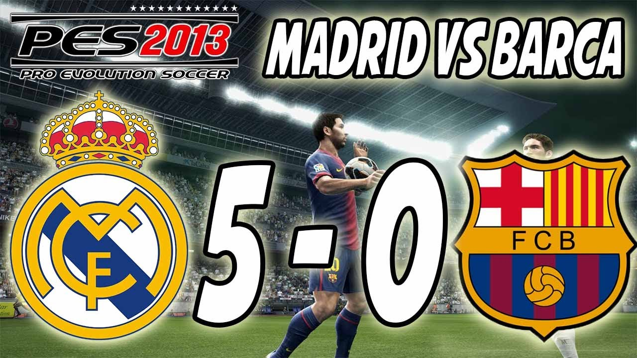 5 0 real madrid barcelona: