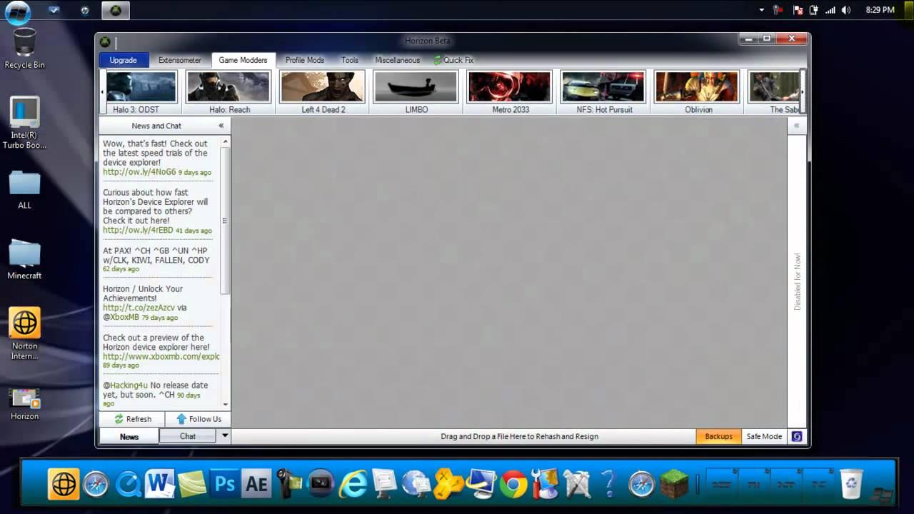 download horizon xbox 360
