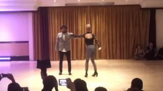 Nina & Zerjon - Salsa Street fusion - TOO LATE