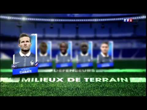 Didier Deschamps dévoile la composition des bleus pour le Mondial 2014 !