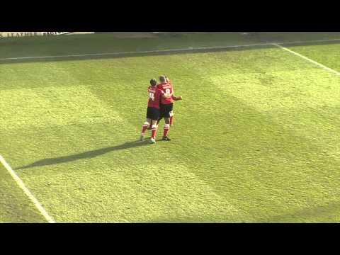 GOAL! Chris O'Grady opens scoring for Barnsley against Yeovil