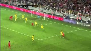 Türkiye 0 - 1 Romanya - Özet
