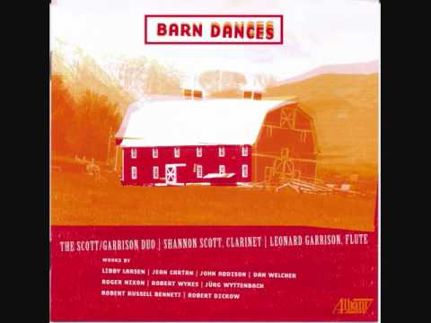 LIBBY LARSEN: Barn Dances for Flute, Clarinet and Piano (2001)