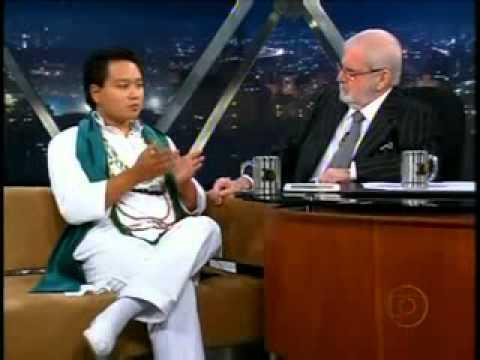 Jô Soares entrevista o pai de santo Sérgio Kunio Kwanami 16_03_2010 (Parte 1 de 2)