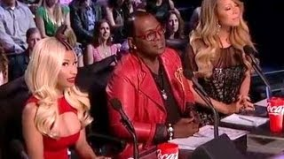 "NICKI MINAJ TELLS MARIAH CAREY ""SIMMER DOWN!"" TOP 5 PERFORMANCES ""AMERICAN IDOL"" -- IDOL CAP"