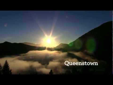 퀸스타운이 제공하는 다양한 모험의 하나로 제트보트가 있다.