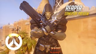 Overwatch: Reaper Gameplay Preview