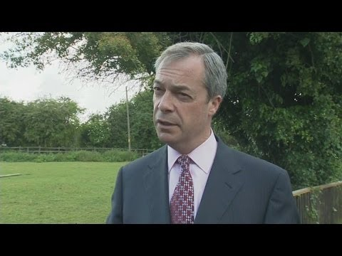 Nigel Farage comments on Ukip's early local election success