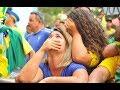 شاهد ردود أفعال المشجعين في بروكسل وريو دي جانيرو بعد انتهاء مباراة بلجيكا والبرازيل