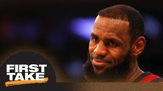 Stephen A.: LeBron James playing 82 games to 'change narrative' this season | First Take | ESPN