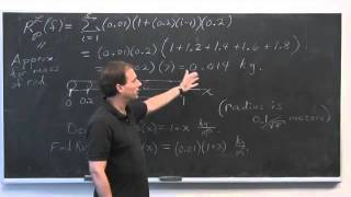 Worldwide Calculus: Prelude to the Definite Integral: Riemann Sums (part B)