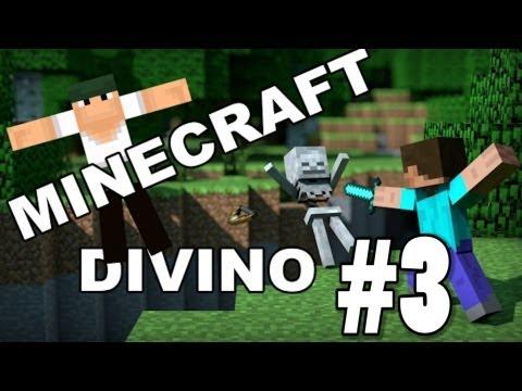 Quase Morri Do Coração! - Minecraft Divino #3
