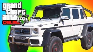 "GTA 5 Online: NEW Dubsta 3 Axle!! GTA 5 ""Hipster Update"
