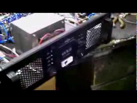 amplificador caseiro de 5000 watts RMS reais AB puro com acabamento profissional