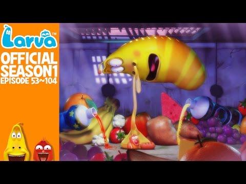 [Official] 90 MIN - LARVA- Season 1 Episode 53 ~ 104 (final)