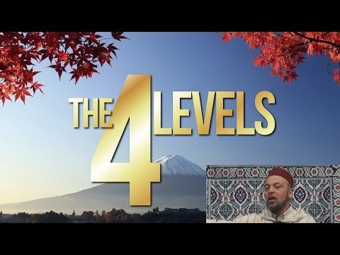 Friday Sermons in Review: The 4 Levels