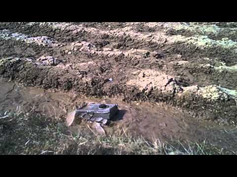 #33 Homemade RC tracked vehicle ( UGV ) - It's an ice breaker - J.Laci