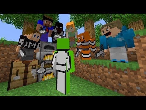 7 SIDEMEN VS DREAM MINECRAFT MANHUNT
