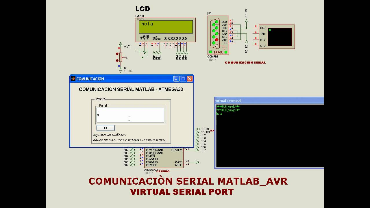Arduino and Matlab: Let Them Talk Using Serial