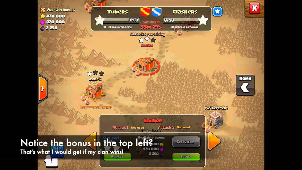 War Clash of Clans
