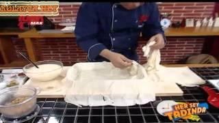 Cevizli Sultan Böreği canlı yapılışı izle