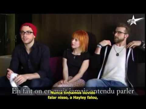 Interview Paramore in France 2010 [LEGENDADO] paramore.com.br