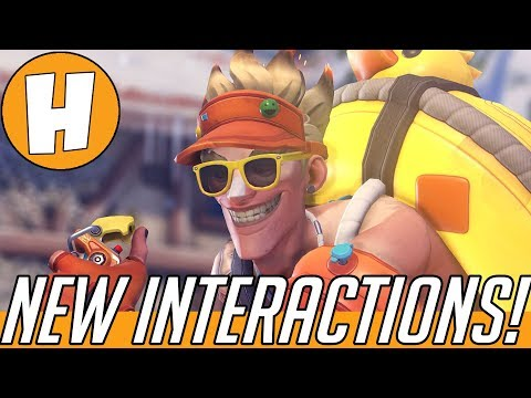 Overwatch - NEW Christmas Interactions + Voice Lines! (Tracer, Hanzo, Mercy + More) | Hammeh