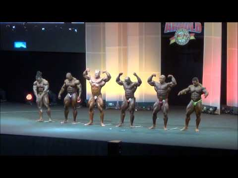 Arnold Classic Europe 2014 IFBB Pro Bodybuilding Final. Top 6.