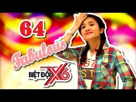 BIỆT ĐỘI X6 | Tập 64 | Cát Tường gây bấn loạn vì thời trang 'gái 20' siêu xinh | 070417
