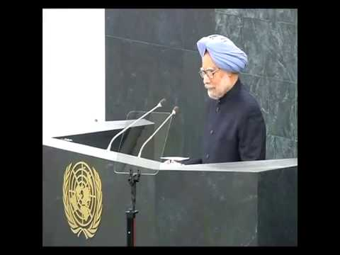 Manmohan Singh Address at UN General Assembly 2013 Full Speech