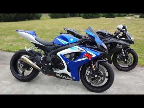 2006 GSXR 750 & 2009 GSXR 600