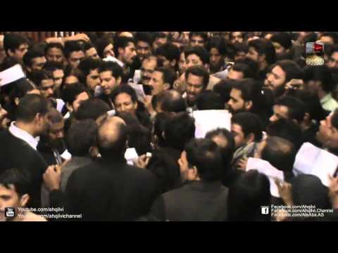 Ansar Party New Noha - 24 Muharram Mochi Gate 1435 - Part -2/2
